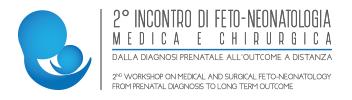 Secondo incontro di feto-neonatologia Logo